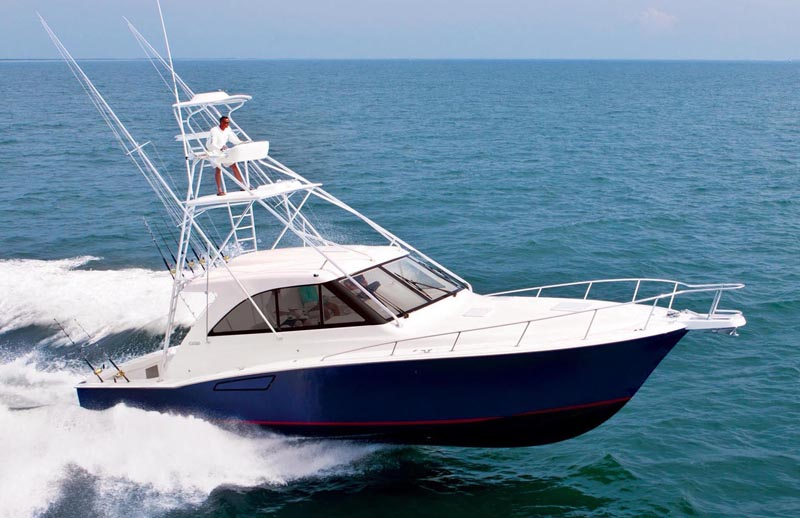 Review Cabo 44 Htx Express Sportfish Cabo Yacht