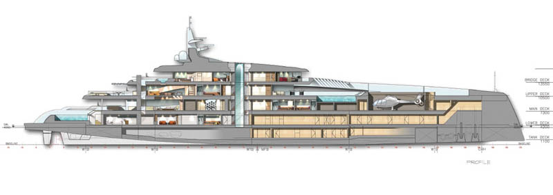 Feature Oceanco 107 Meter Project Quot Stiletto Quot Oceanco
