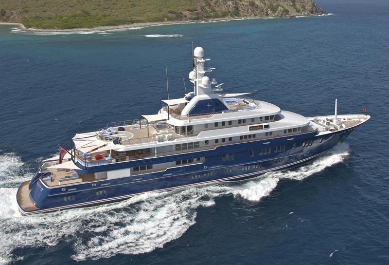 Review lurssen yachts 247 northern star lurssen for Lurssen yacht genova