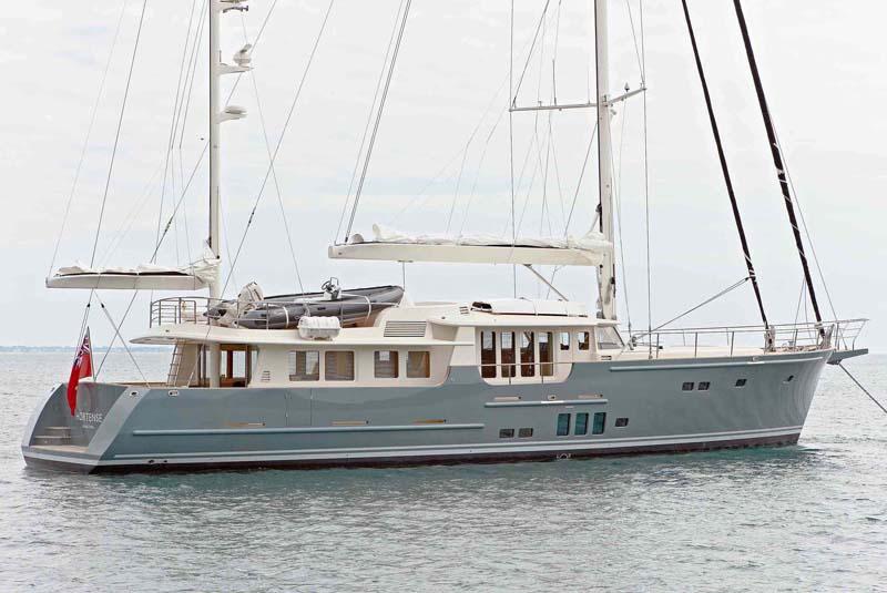 Review Jfa 90 39 Motorsailer Hortense General Sailing