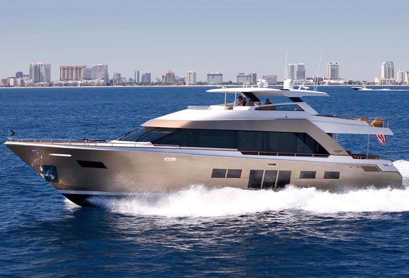 Review Lazzara Lmc 76 39 Motor Yacht Lazzara Yacht Yachtforums We Know Big Boats
