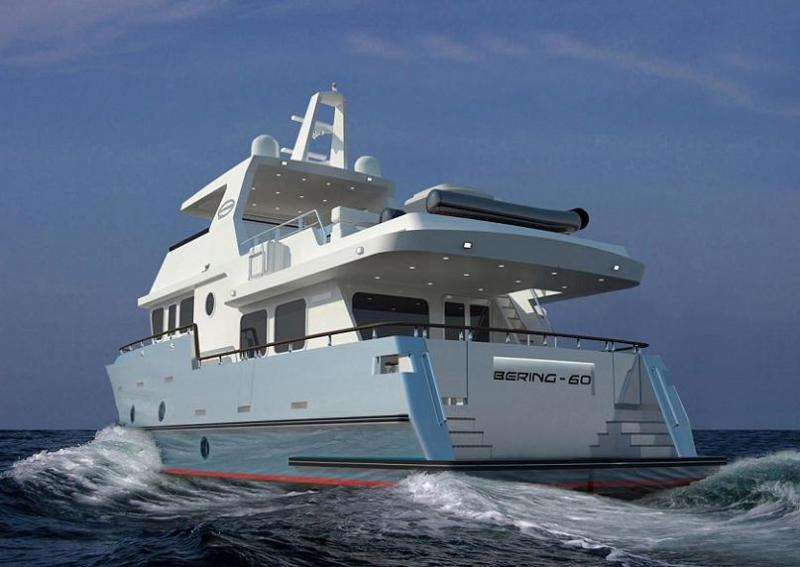 Feature Bering 60 Steel Trawler Bering Yachts