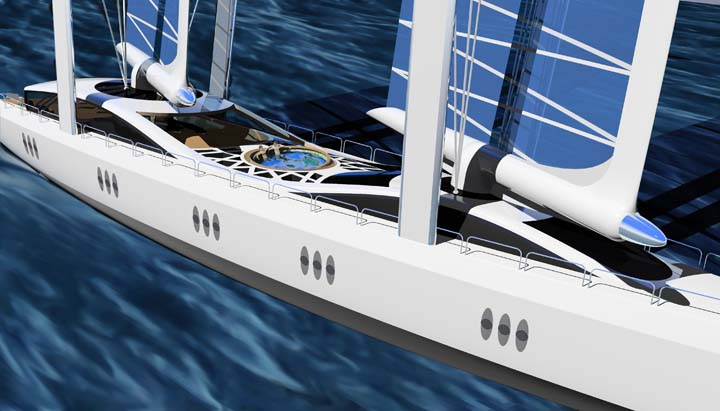 Future Concept 57m Super Sailing Yacht Future Yachts
