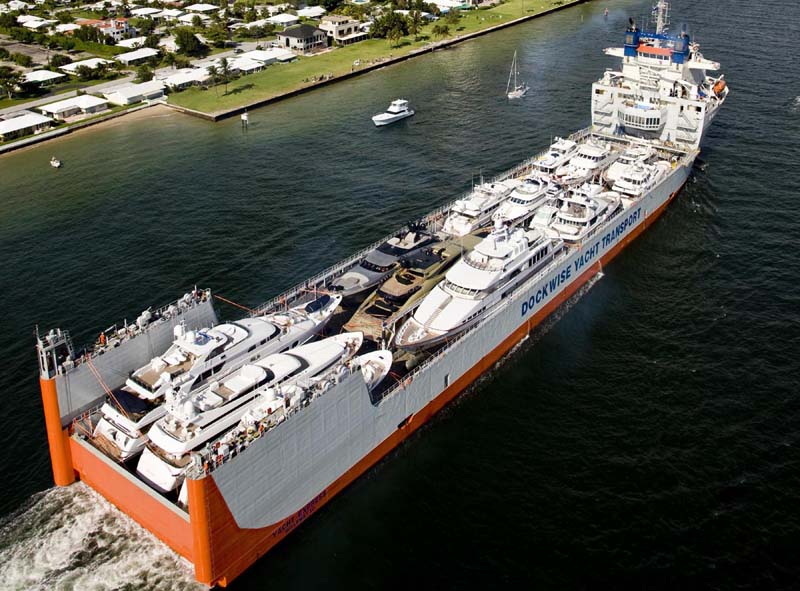 review dockwise 685 39 yacht express yacht transport ships dockwise yachtforums we know. Black Bedroom Furniture Sets. Home Design Ideas