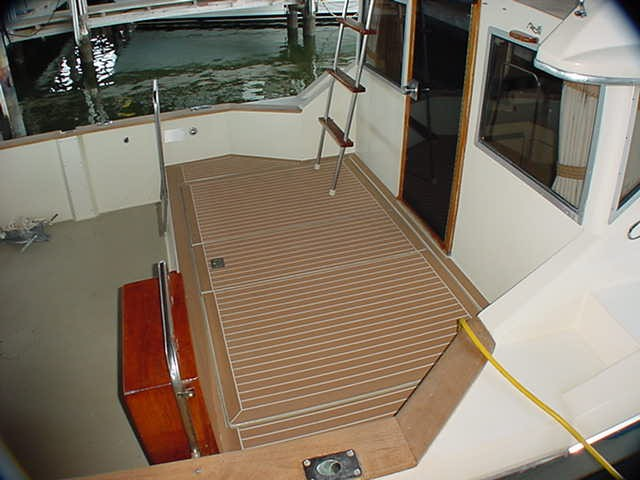 Synthetic Teak Decking Technical Discussion
