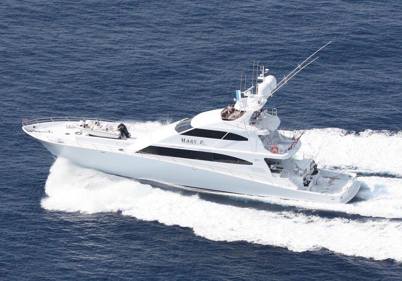 """Review: Trinity Yachts 122' Sportfish """"Mary P"""" - Trinity ..."""
