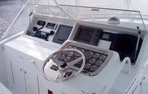 Hatteras Yachts 50' Convertible - Bridge. Attached Images
