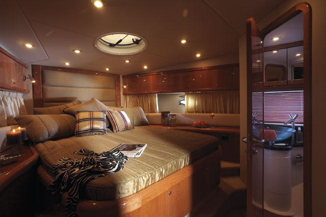53' Sunseeker Portofino; Forward Cabin... Attached Images