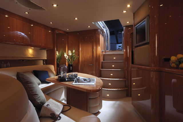 53' Sunseeker Portofino; Salon... Attached Images
