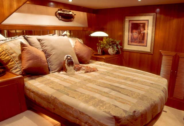 54' Ocean Alexander; Master Stateroom... Attached Images
