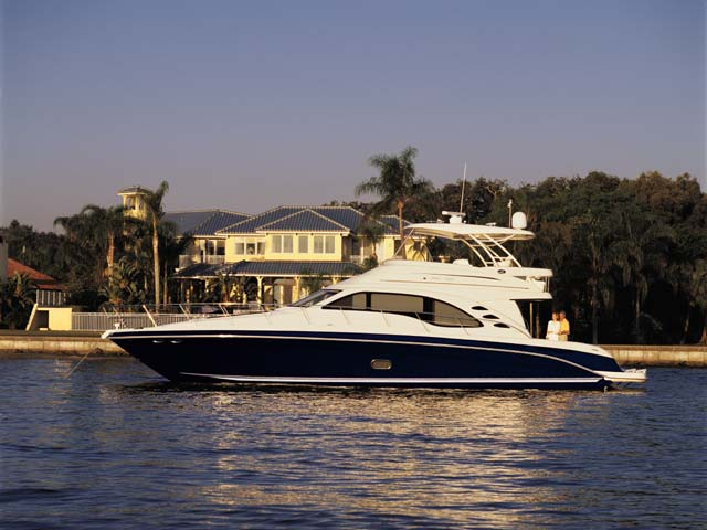 550 Sea Ray Sedan Bridge; Exterior/Interior Gallery