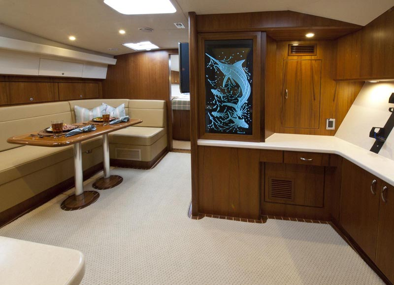 Cabo has been known for it's excellent interior joinery and this 44 did not ...