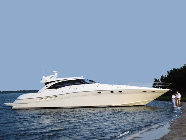 Sea Ray 680 Express Yacht; Exterior/Interior Gallery.