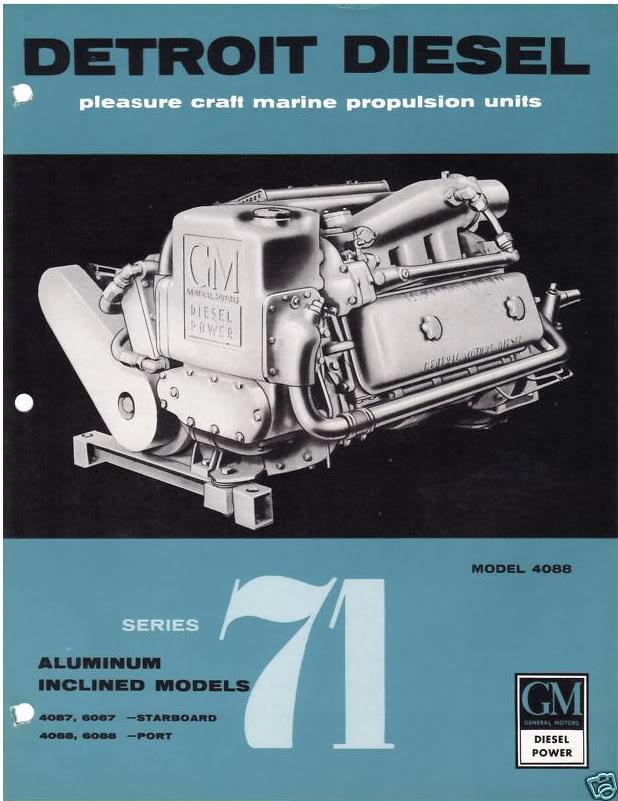 671 Detroit Diesel Marine Engine