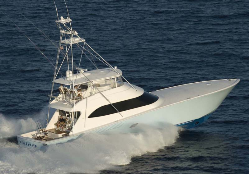 ... as thousands of fishing hours under their belts, the Viking 82 stands ...
