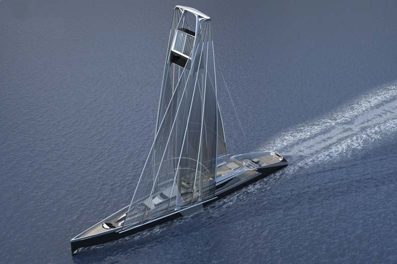 Feature: Radical New Sailboat Concept: Twin-Masted Swing Sail
