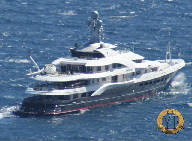 Attessa Iv The Helicopter Falls Over In Storm General Yachting