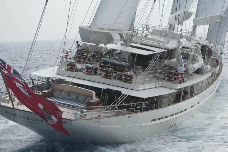 Review Royal Huisman S Athena Royal Huisman Yacht