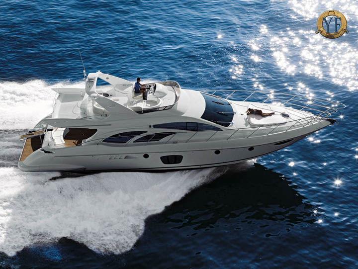 RESERVE this Yacht Charter · Azimut 62S - Main Courtesy www.charterworld.com