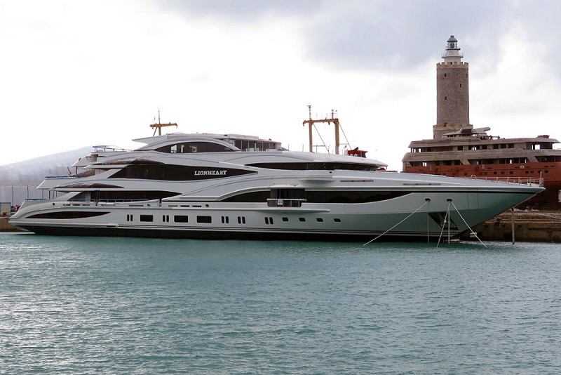 Benetti Launches 90M Superyacht Lionheart.jpg