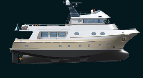 Rugged Design: Bering 75' trawler - Bering Yachts