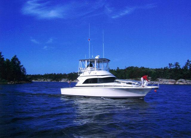 This is an absolutely pristine example of a much desired sport fish yacht.