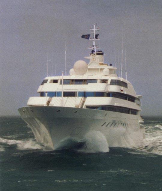 Blohm Voss Superyacht Lady Moura Blohm Voss Yacht