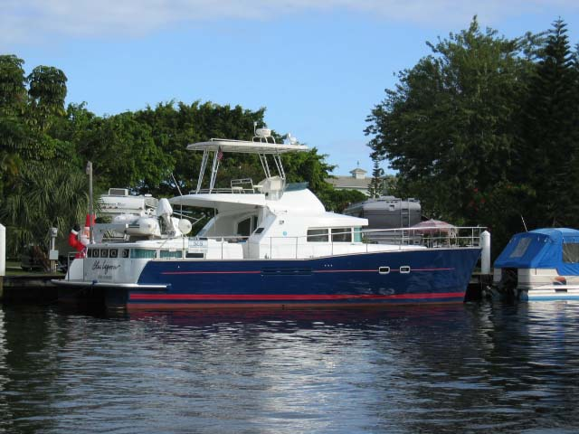 """""""Blue Lagoon"""" power catamaran... Attached Images"""