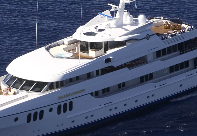 Review Feadship Quot Blue Moon Quot Feadship Yacht