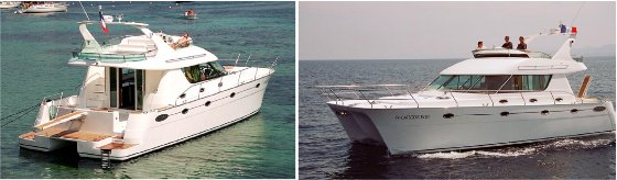 Luxury custom yachts, catamarans, power boats design, construction