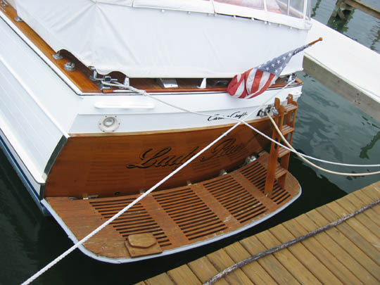 Classic Chris Craft Connie - YachtForums.