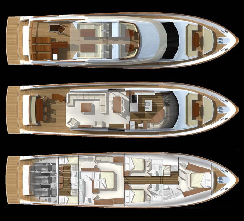 Review Lazzara LMC 76 Motor Yacht