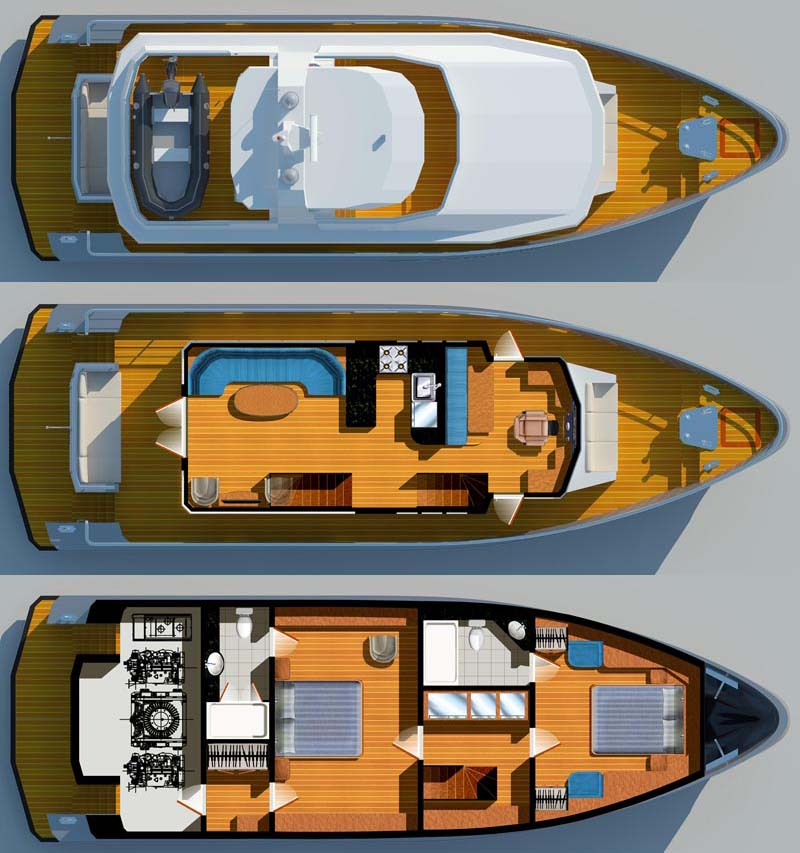 Feature Bering Yachts 18 Meter Trawler Bering Yachts