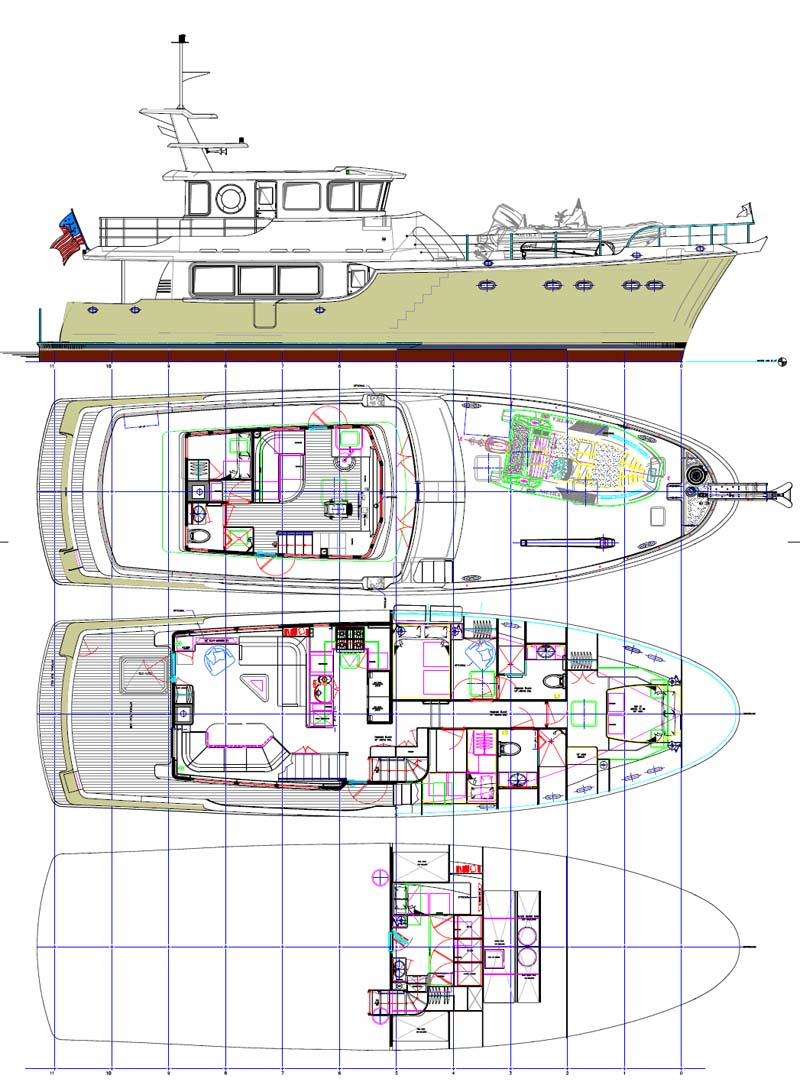 Do It Yourself Home Design: Review: Nordhavn Yachts 63' Expedition Trawler