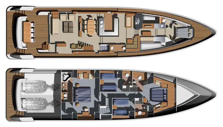 Do It Yourself Home Design: Review: Aicon 85' Flybridge Yacht