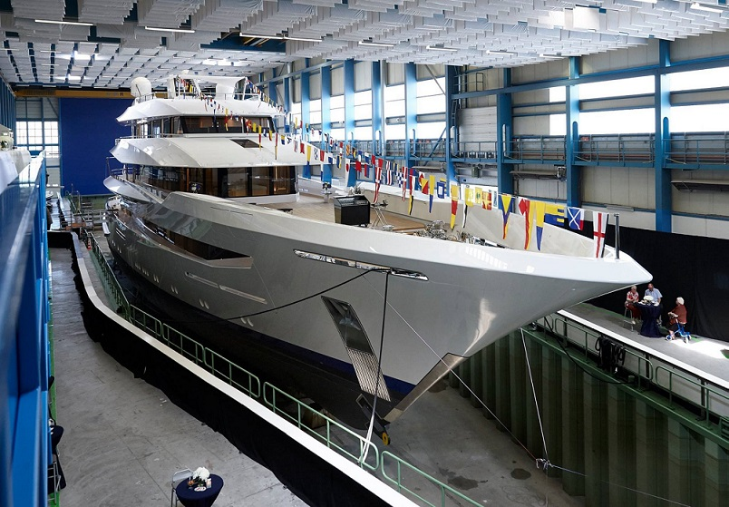 Feadship Launches 70M Superaycht JOY.jpg