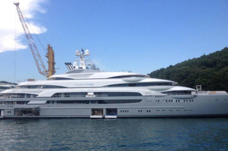 delivered fincantieri 140m superyacht ocean victory