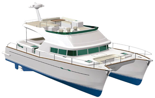 New Lagoon 44 Power Cat - YachtForums.