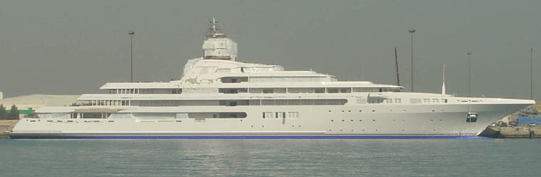 The 5 Largest Private Yachts In World