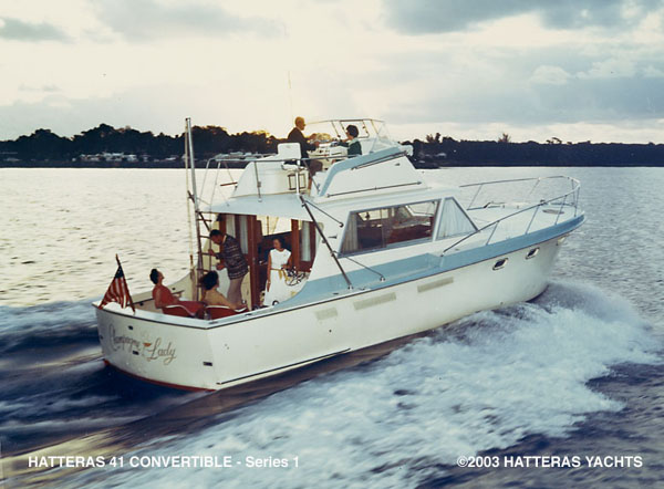 Hatteras 41' Convertable... Attached Images