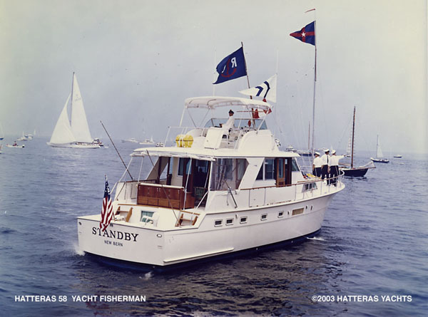 Hatteras 58' Yacht Fisherman... Attached Images