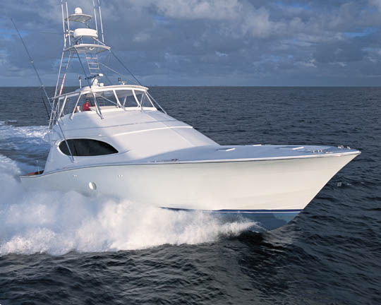 Review hatteras 68 39 convertible hatteras yacht for Hatteras fishing boat