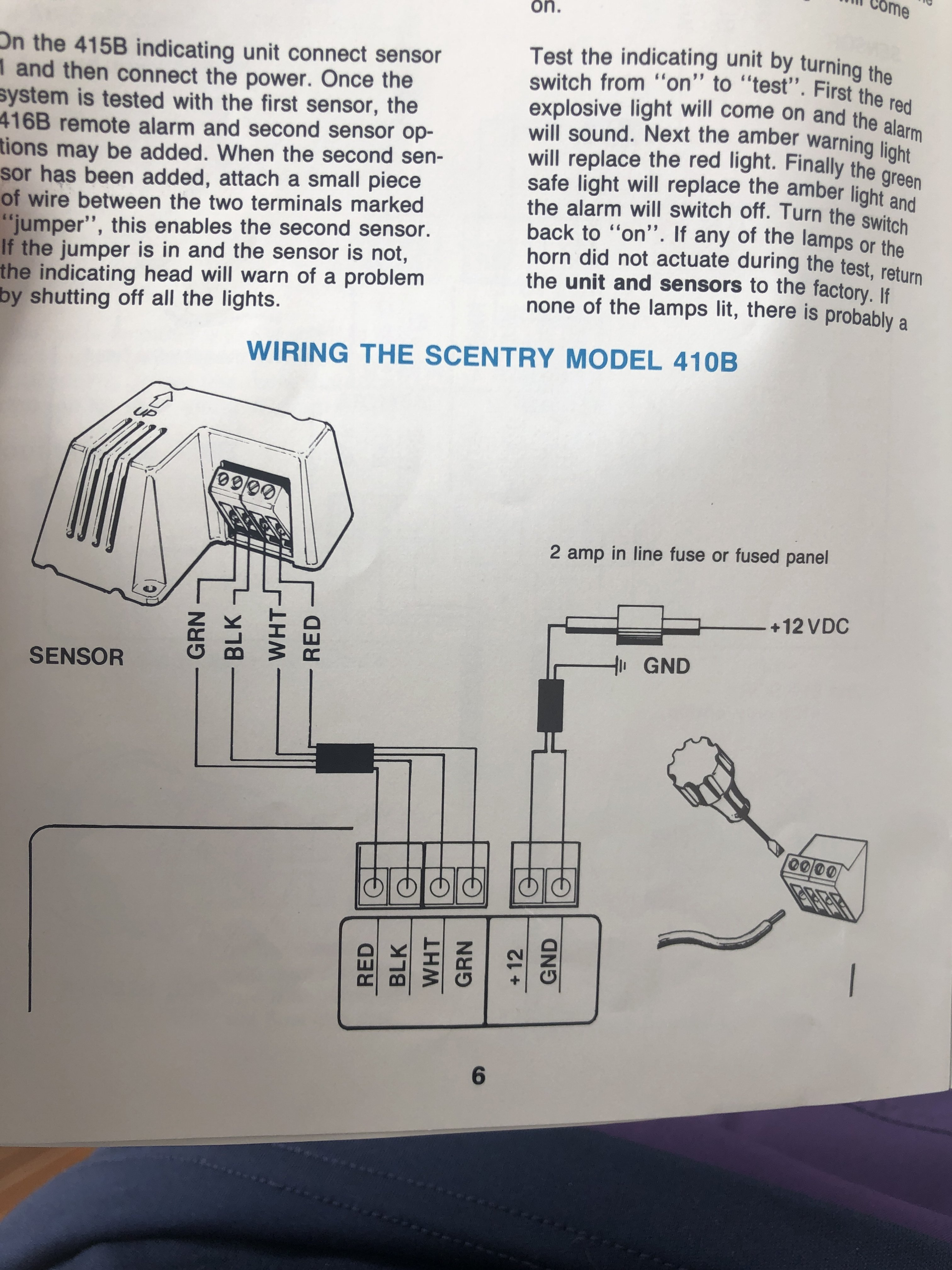 Gas Vapor Detector Manual