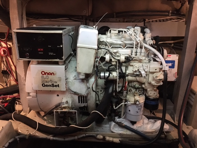 1989 43 generator replacement - Post Yacht | YachtForums: We