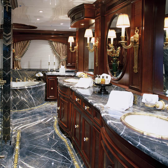 To Any Yacht Designer S Imagination Andthat Is Size Yacht Bathrooms