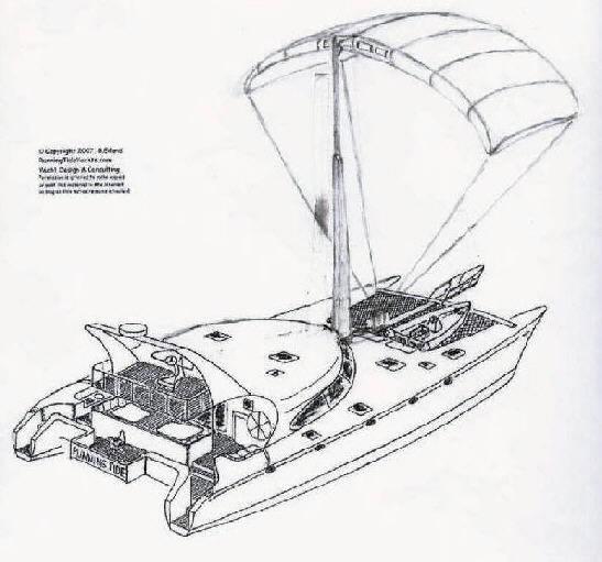 Aluminum Catamaran Sailboat Plans