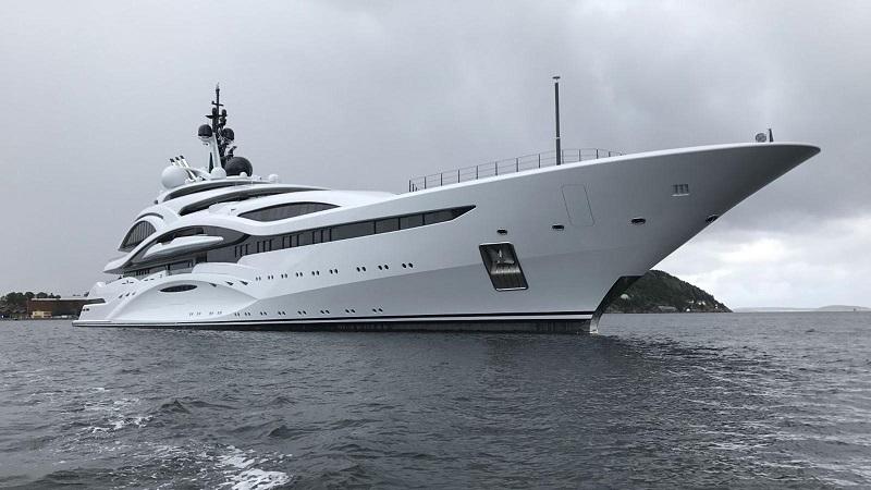 News Lurssen Delivers 123m Superyacht Quot Al Lusail