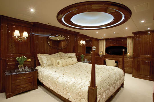 a room size round dome light above yields soft lighting along with a splattering of starlights in the ceiling ceiling domes with lighting