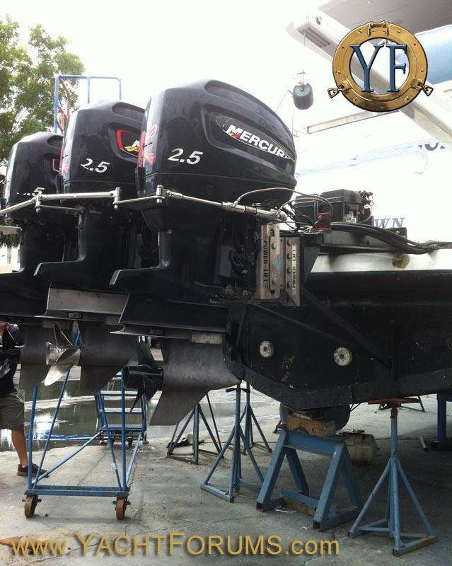 Mercury Outboard Powered 65' Motoryacht (no joke!) - Popular