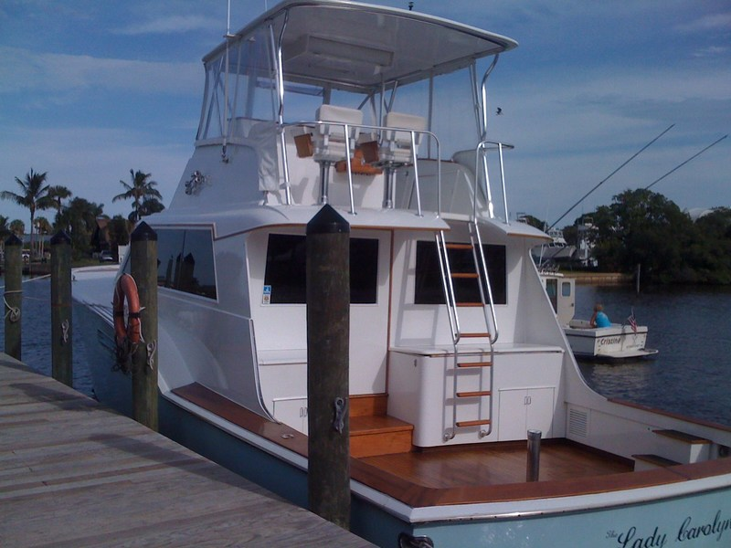 ... family for sometime and we finally settled on a Hatteras 53 Convertible.